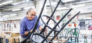 Ruční výroba židlí